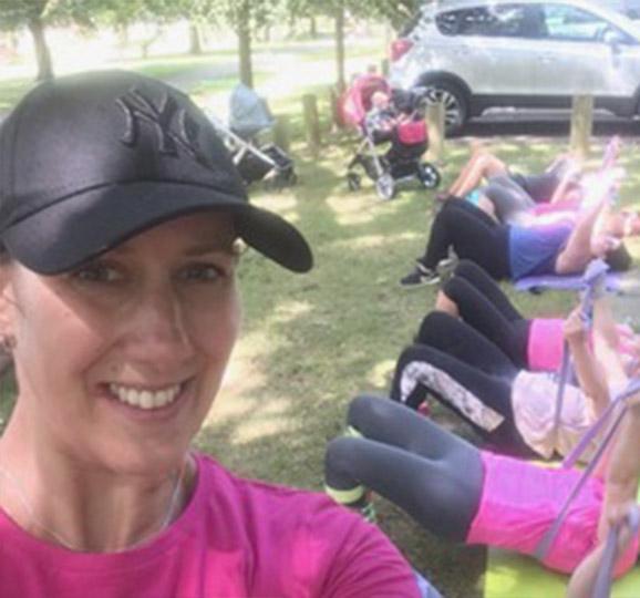 Nicola Highnam Mum fitness